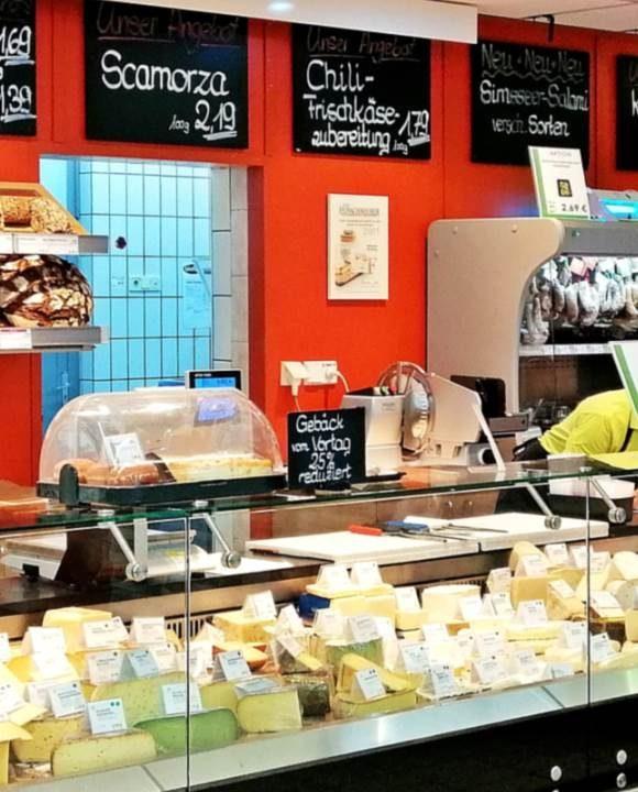 Käsetheke Biofair-Markt, Raubling